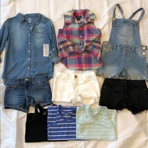 Little girls SPRING/SUMMER bundle size 6